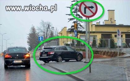 Znany minister N..k daje przykład jak jeździć