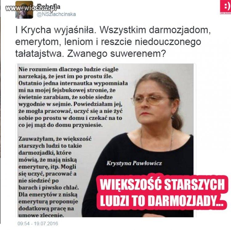 """Takie tam przemyślenia """"profesor"""" Pawłowicz"""