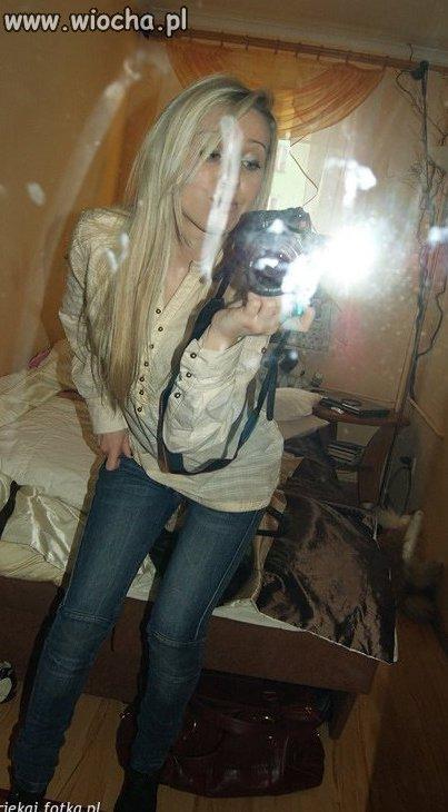 Blond dziunia