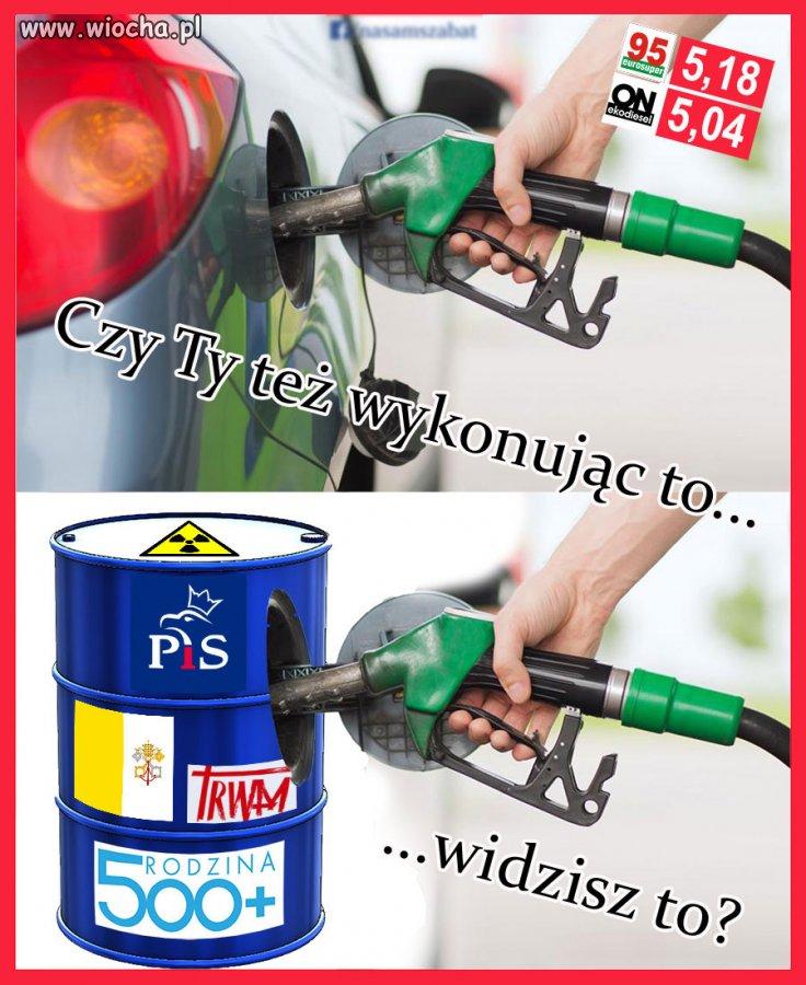 55% ceny paliwa to podatek i akcyza