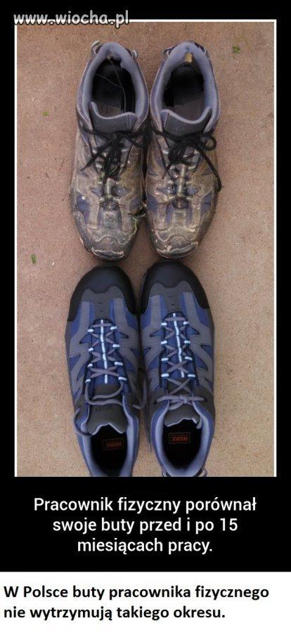 Buty pracownika fizycznego