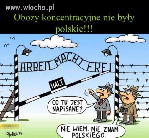 Niemiecki  obóz koncentracyjny!
