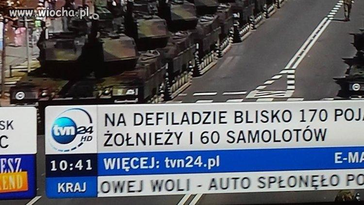 Żołnieże w TVN24