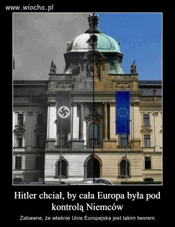 Marzenie Hitlera się spełniło.