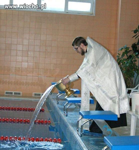 Na tym basenie ratownik jest już zbędny.