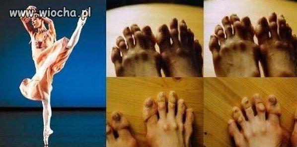 Stopy baletnic