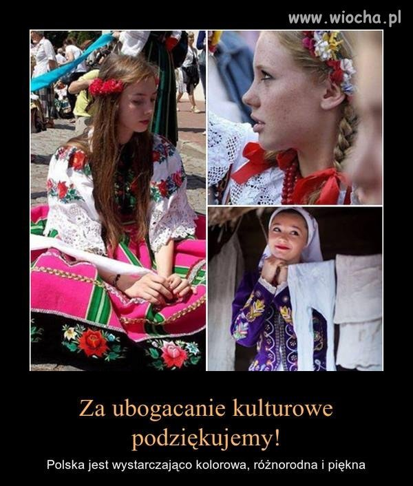Polska to piękny kraj. Mój kraj