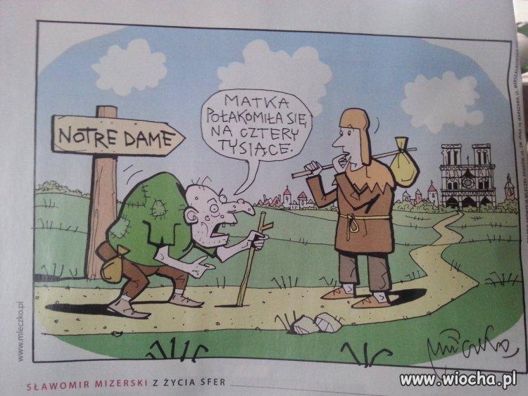 Haniebny rysunek w polityka.