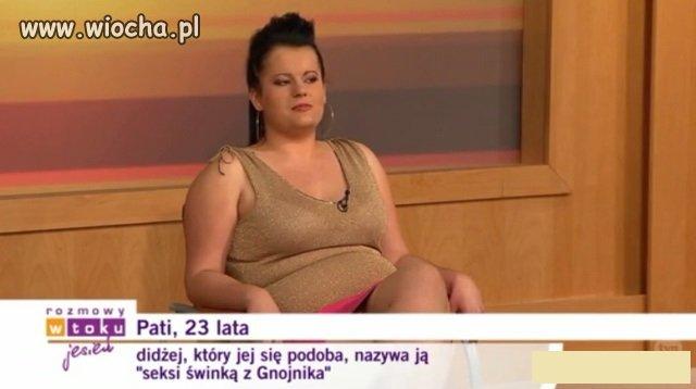 """Seksi świnka z Gnojnika"""