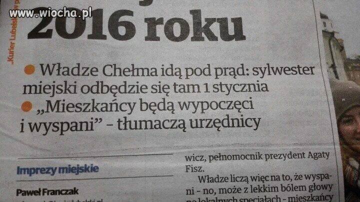 Sylwester w Chełmie