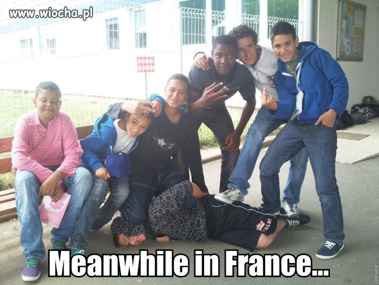 Tymczasem we Francji.