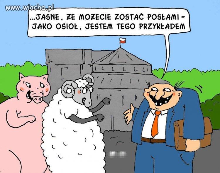 I kto jeszcze do Łełro parlamenta?