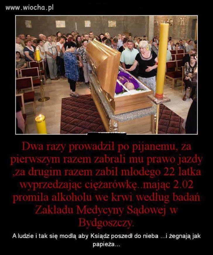 Pogrzeb mordercy.