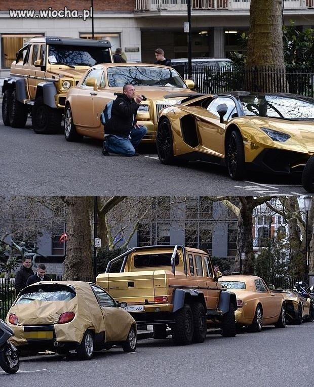 Zlot złotych samochodów