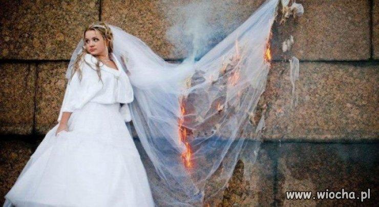 Widziałem już różne głupie zdjęcia ślubne