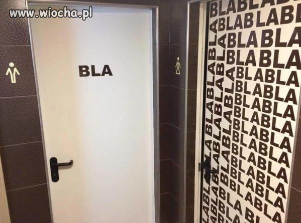 Drzwi do toalety