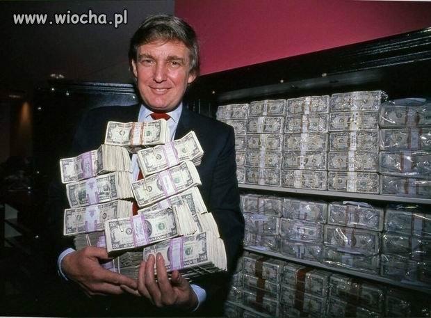 Donald z milionem dolarów