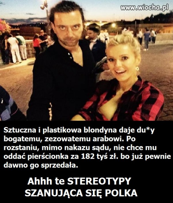 To tylko stereotyp.