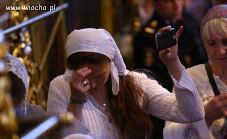 Selfie przy modlitwie...