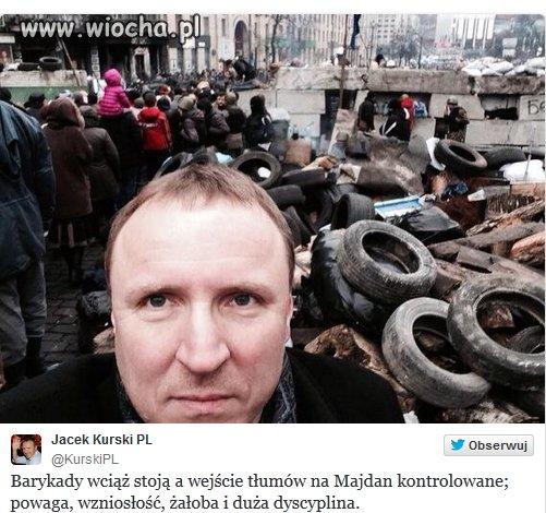 Sweetfocia Kurskiego na Majdanie