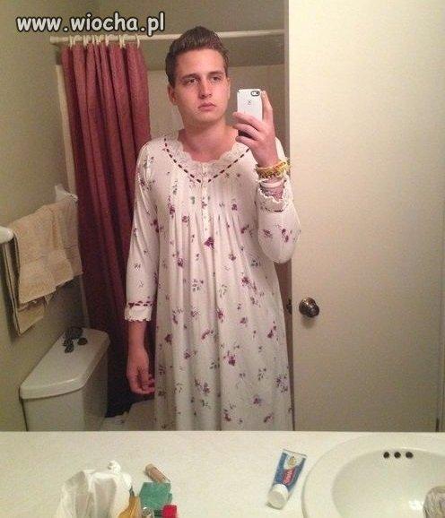 Piżama po babci