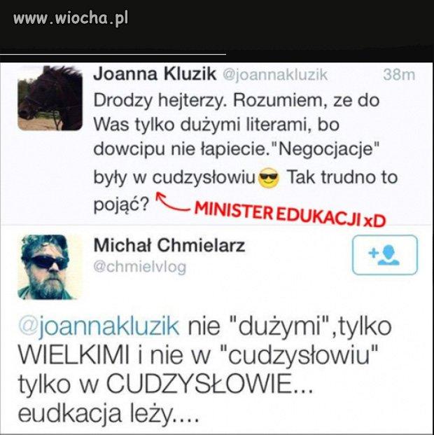 Zdolna pani minister