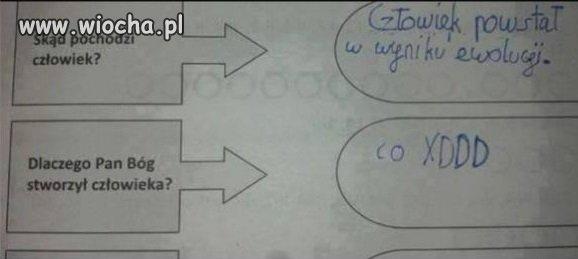 Egzamin w polskiej szkole