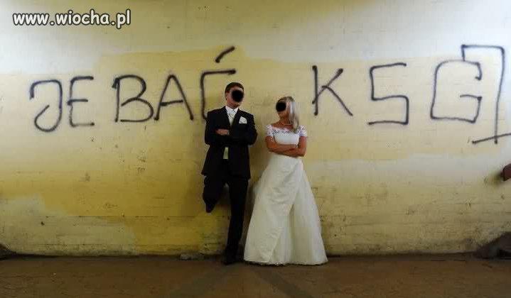 Z serii fotografia ślubna
