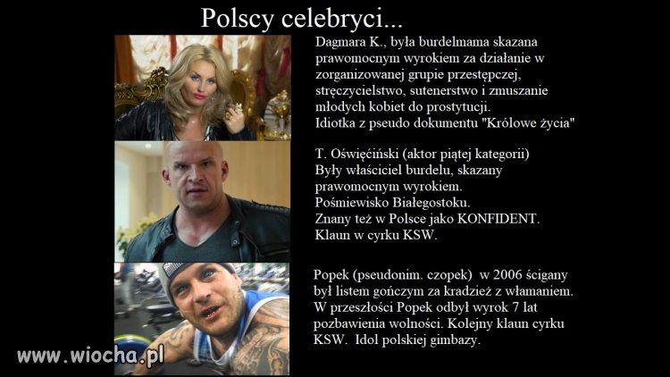 Pseudo gwiazdy polskiej TV.