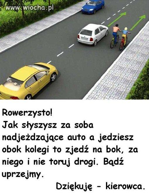 Rowerzysto...