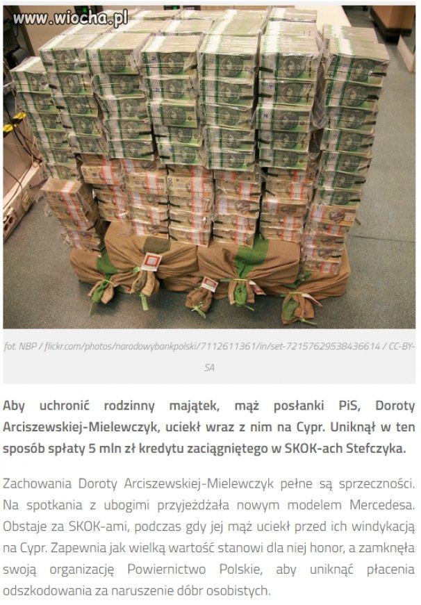 A tak się z Polski wyprowadza pieniądze...