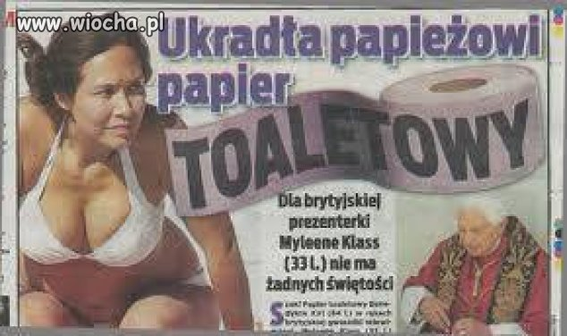 To papier jest �wi�to�ci� ?