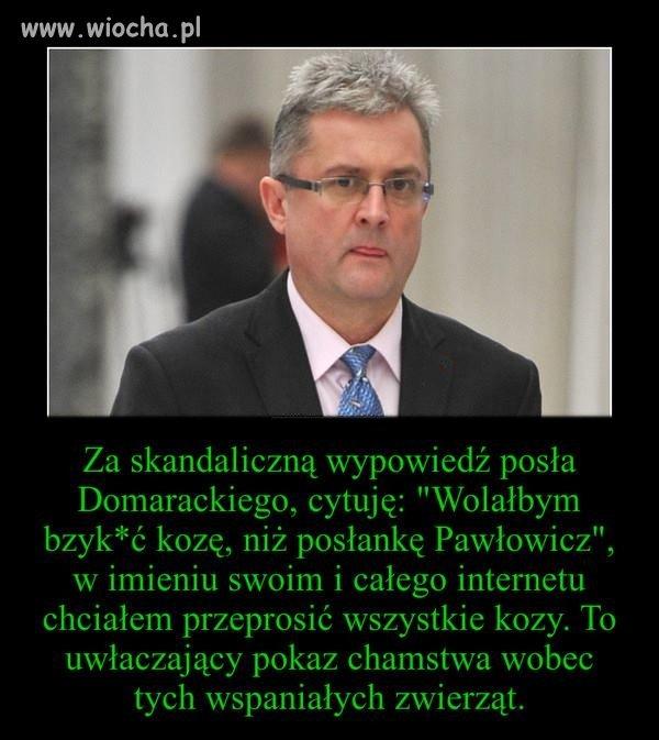 Faktycznie bzyknąć Pawłowicz