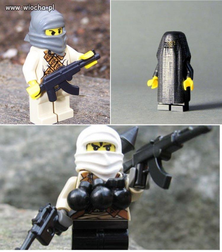 Jedyne LEGO nadąża