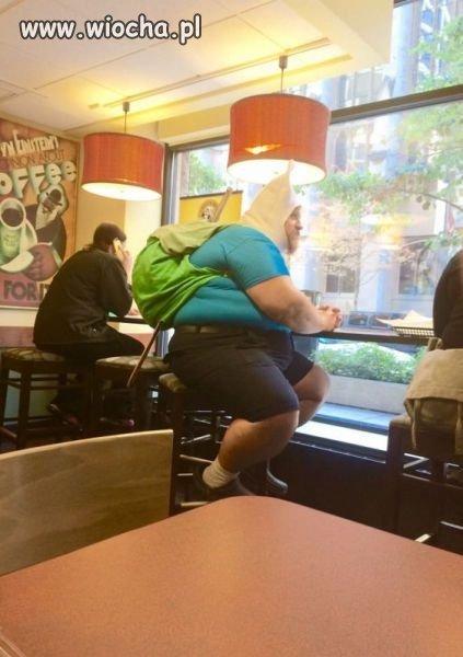 Krasnoludek z nadwagą