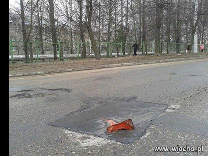Lenistwo drogowców przekracza ludzkie pojęcie