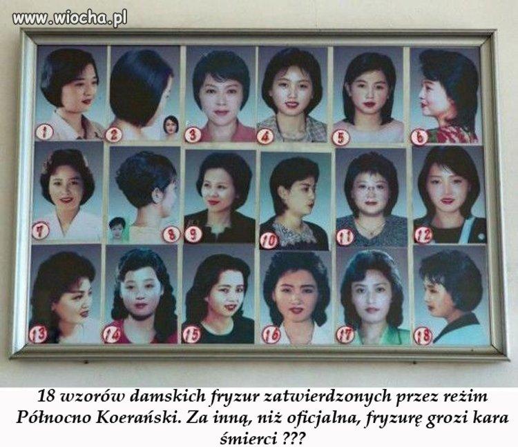 W Korei Północnej można zaszaleć u fryzjera