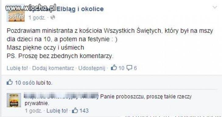Znalezione na FB