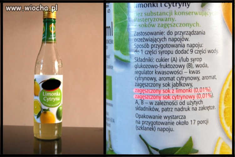 Syrop homeopatyczny