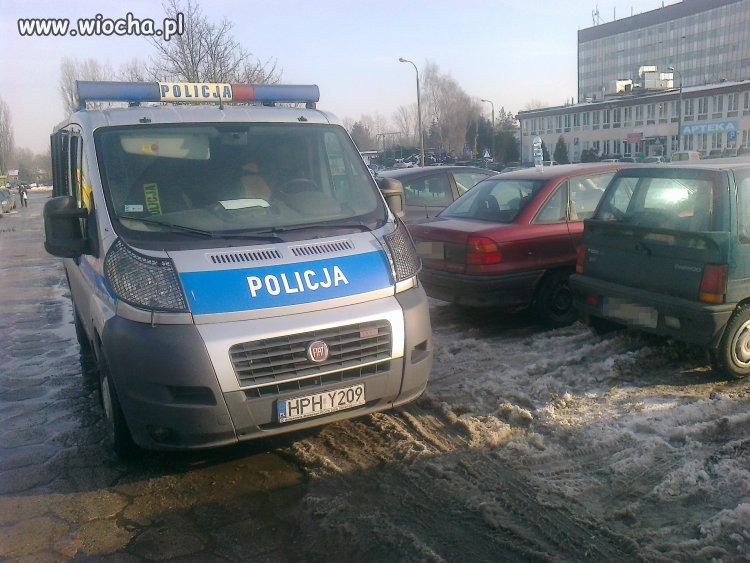 Policja Płocka w akcji, zastawiła mnie!