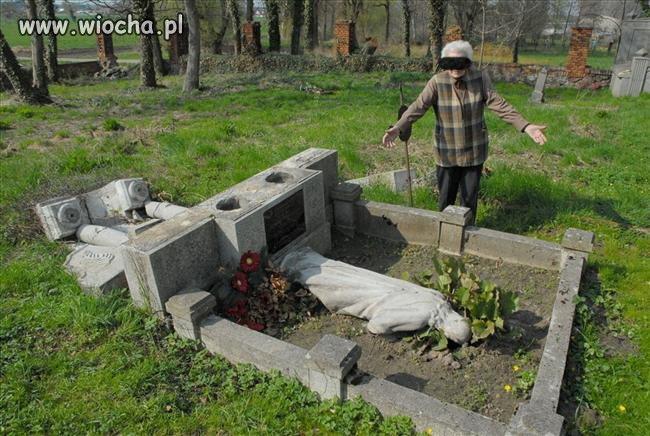 Ta kobieta 40 lat dbała o grób rodziny