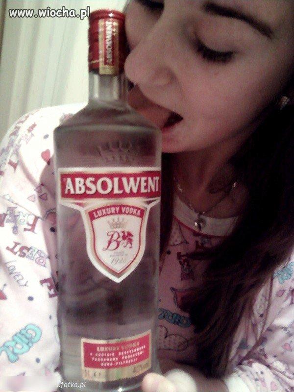 Małolata i wódka