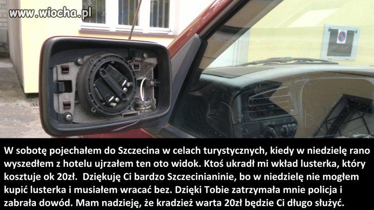 Szczecin - miasto tanich złodziei
