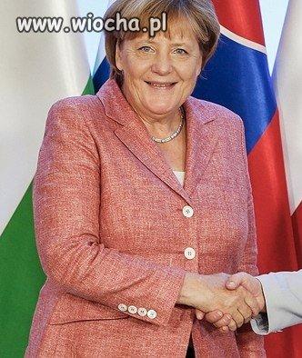 Merkel w ARD znowu wtr�ca sie do innych, chce