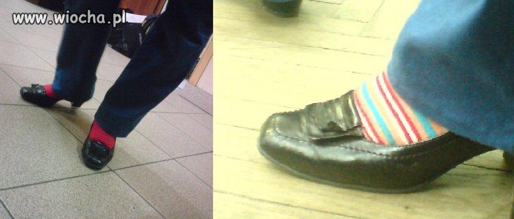 Buty mojej nauczycielki, specjalnie czołgałam się pod