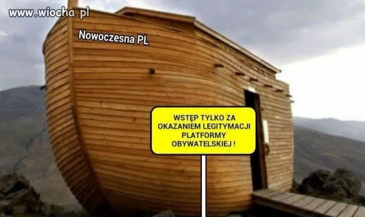 Platforma Obywatelska jako Nowoczesna Polska