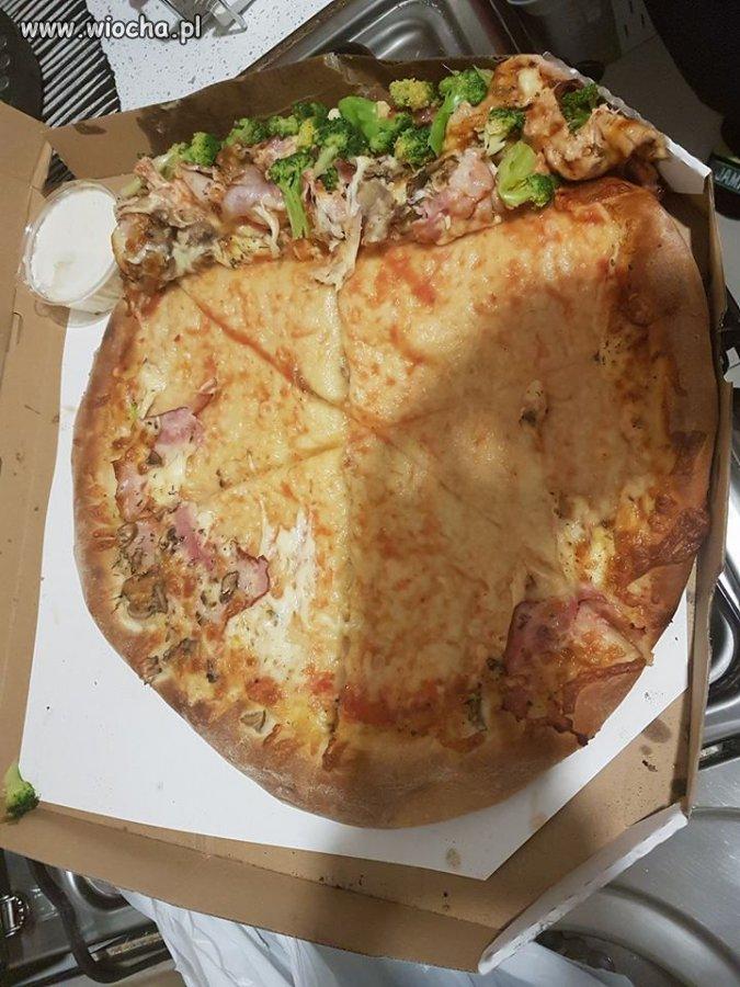 Wysłałem syna po pizzę...