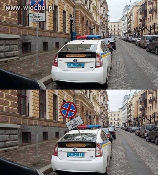 Kara za z�e parkowanie