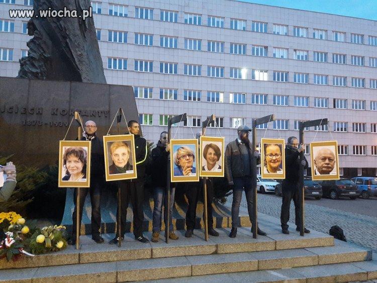 Pikieta narodowców w Katowicach