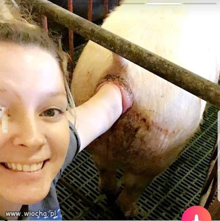 Idealne selfie na wiocha.pl